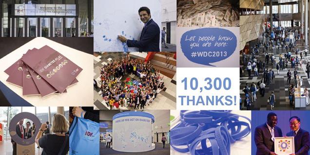 کنگره جهانی دیابت در سال 2013
